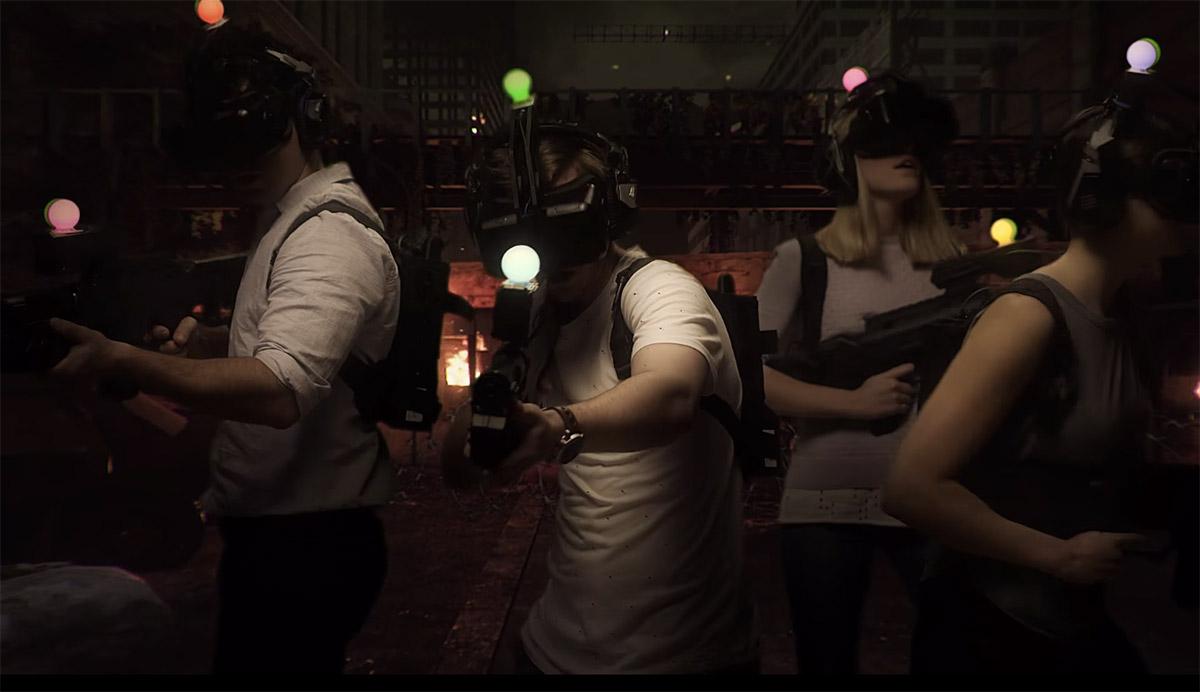 ร้านเกมส์ VR